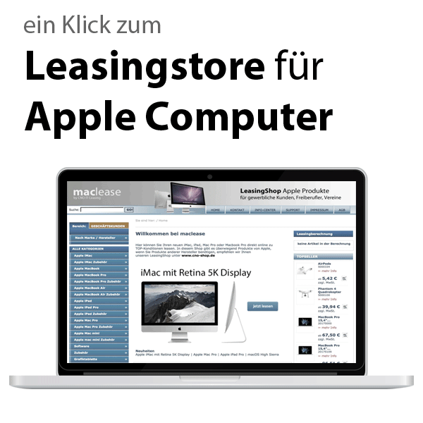 Leasingstore Apple Computer