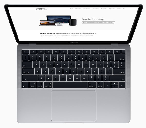 Store, Shop - Apple MacBook Air leasen
